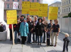 Bündnis für Karlsfeld und Karlsfelder Bürgerinitiative gegen die 3.Startbahn