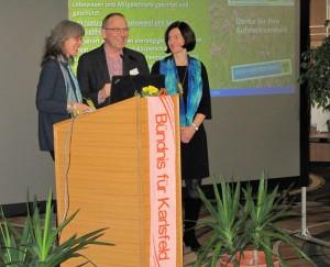 Dr.Christine Margraf, Marco Brandstetter und Mechthild Hofner (Foto: Jochen Seyboth)